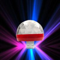 1x Car Truck Atmosphere Neon Lights LED USB RGB Decor Lamp Interior Accessories