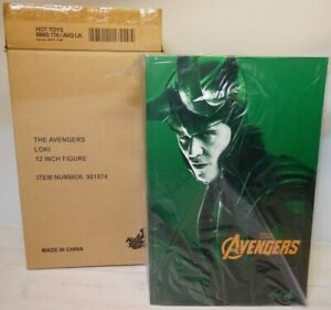 Hot Toys MMS 176 Loki The Avengers 1/6 th scale
