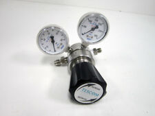 TESCOM 44-2263-241 GAS CABINET CYLINDER REGULATOR WITH GAUGES