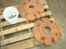 1954 Allis Chalmers Wd45 Tractor Rear Wheel Weights Amp Hardware