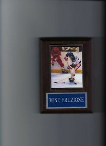 MIKE ERUZIONE PLAQUE MIRACLE ON ICE HOCKEY USA OLYMPIC GOLD MEDAL US
