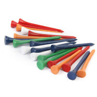 "300 Pack Mixed Colors Wooden Wood Golf Tees 70mm (2 3/4"") bulk Professional"