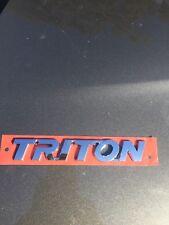 Mitsubishi Triton Badge
