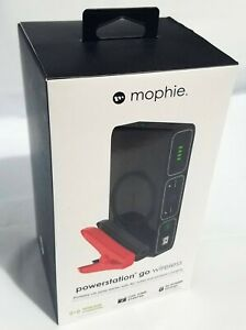 Mophie Powerstation Go Car Jump Starter with AC Outlet and Wireless Charging