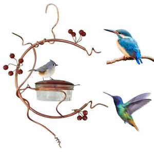 Courtyard bird feeder Red Berries Hummingbird Feeder 2021 US Hot!!