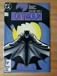 Batman #405 Frank Miller Year One Part 2 Newsstand VF 1st Carmine Falcone DC