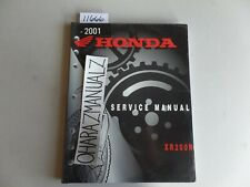 2000 Honda XR200R Service Manual OEM