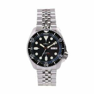 Sharkey SKX007 Classic Dive Watch Seiko SII NH36A Movement Sapphire C3 316L