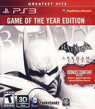 BATMAN - ARKHAM CITY (GAME OF THE YEAR) (PLAYSTATION3)