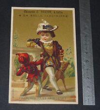 CHROMO 1890-1900 CHICOREE A LA BELLE JARDINIERE BERIOT FRANCOIS 1er & TRIBOULET