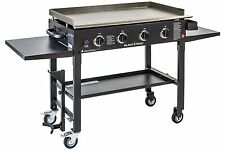 Blackstone 36 Inch Outdoor Flat Top Gas Grill Griddle Station 4-Burner Black New