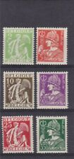 timbres belgique no 335 a340 neufs **