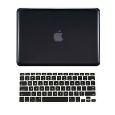 "2 in1 BLACK Crystal Case for NEW Macbook Pro 13"" A1425 Retina display+ Key Cover"