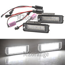 2x Error Free LED License Plate Light For Bentley Continental Flying Spur 06-13