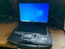 "Dell Latitude XFR D630 14"" Windows 10 Laptop Rugged C2D CPU 4gb 80gb"