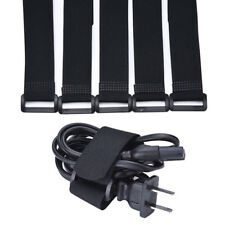 Reusable Silverline Pack Hook Loop Cable Cord Ties Tidy Straps Affordable new.