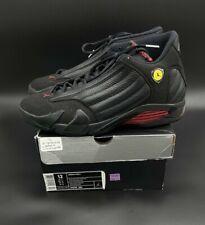 Air Jordon 14 Retro Last Shot 2011 Mens Basketball Shoe Size 12 311832-010 Black