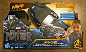 Marvel Black Panther Nerf Vibranium Strike Gauntlet New Unopened ~~~W@W~~~