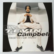 "Tevin Campbell ""Back To The World"" Promotional Sticker"