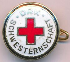 1940s Germany WWII Era German DRK Red Cross Sisterhood Combat Member Pin Badge