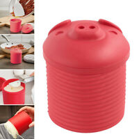 Cartoon Pig Design Bacon Grease Leacher Silicone Storage Container Strainer FD8