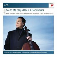 YO-YO MA PLAYS BACH & BOCCHERINI   6 CD NEW+