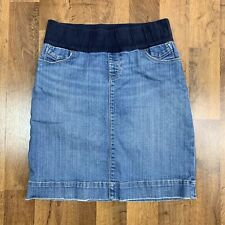 Gap Maternity Women's 8 Skirt Stretch Denim