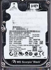 Western Digital WD2500BEKT-60PVMT0 HHCTJABB 250GB 2.5 SATA A8-05