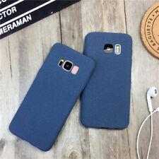 Shockproof Ultra-thin Matte Soft Silicone Rubber Case TPU Plush Cover For Phone