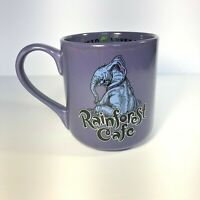 Rainforest Cafe Purple Elephant Mug 2002 Tuki Makeeta 18 oz Oversize