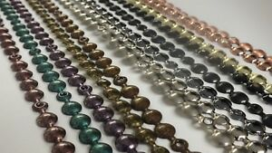 Upholstery nail strip decorative nails tacks studs Bronze copper nickel pewter