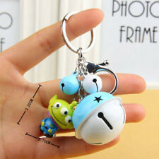 Disney Toy Story Alien Keychain with Bell Bag Pendant Figure Keyring Accessories