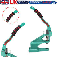 Universal Hand Press Green Machine with Foam Grip Handle for DIY Leathercrafts