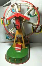 VINTAGE TIN TOY FERRIS WHEEL WIND-UP  JOSEPH WAGNER MADE IN GERMANY