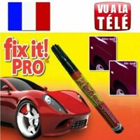 Fix it pro - Vu à la TV - Stylo efface rayure carrosserie voiture, moto.