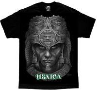 DGA David Gonzales Art Mexica Aztec Warrior Punk Tribal Tattoo Urban Mens Shirt