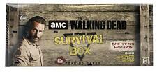 THE WALKING DEAD SURVIVAL BOX (TOPPS 2016)