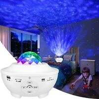 Night Light for Kids,3in1 Star Projector w/LED Nebula Cloud for Bedroom  (White)