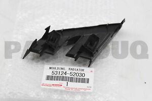 5312452030 Genuine Toyota MOULDING, RADIATOR GRILLE SIDE, LH 53124-52030