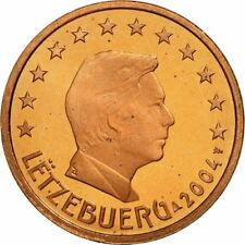 [#462394] Luxemburg, 5 Euro Cent, 2004, FDC, Copper Plated Steel