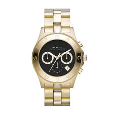 NEW MARC JACOBS MBM3309 GOLD LADIES BLADE WATCH - 2 YEAR WARRANTY