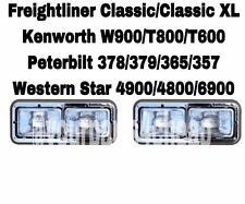 Headlight Assembly Driver Passenger Kenworth W900 T600 Freightliner Peterbilt