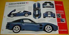 1994 Chevrolet Corvette ZR 1 Mod Dick Guldstrand GS90 350 ci 475 hp specs/photo