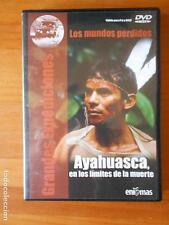 DVD AYAHUASCA, EN LOS LIMITES DE LA MUERTE - GRANDES EXPEDICIONES (D4)