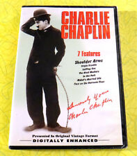 Charlie Chaplin - 7 Features Collection ~ New DVD Movie Set ~ Classic Comedy