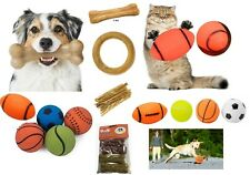 Dog dental chew toys Raw hide Ring Bones sticks munchies flavoured squeaky toys