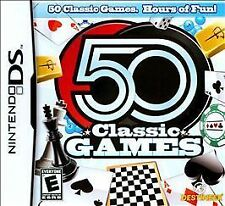 NEW DS, DSI, DS, 2DS Game Works in 3DS   50 CLASSIC GAMES  MAKE AN OFFER