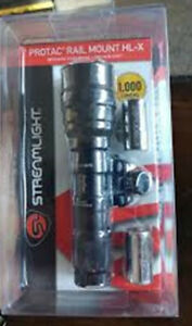 Streamlight 88066 Protac Rail Mount HL-X, 1,000 Lumens Tactical Flashlight