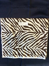"Zebra Nursery Print 100% Cotton 24"" long by 44"" wide"