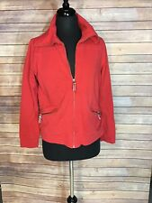 Ann Taylor LOFT Red Work Out Active Jacket Size L